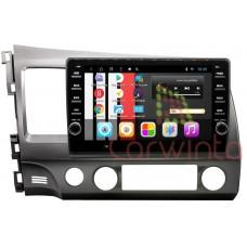 Магнитола Carwinta KV-1045T3 Honda Civic 4D 2006-2011 Android 7.1