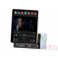 Магнитола Carwinta универсальная под 2DIN с большим съемным экраном (стиль Tesla)