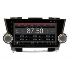 Магнитола Carwinta для Toyota Highlander 2008-2013 Android 8.1