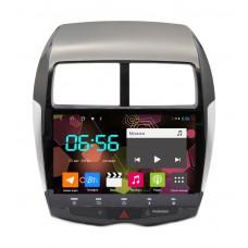 Магнитола Carwinta для Mitsubishi ASX, RVR 2010 + Android 8.1 4G модем, 4/64 гб. DSP процессор.