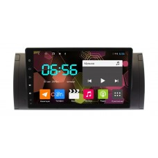 Магнитола Carwinta для BMW 5 E39,X5 E53 Android 8.1 4G модем, 4/64 гб. DSP процессор.