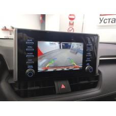 Установка камеры на Toyota Rav4 2020+