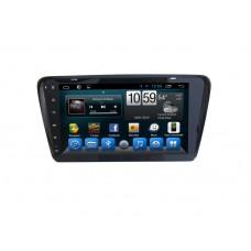 Головное устройство Skoda Octavia A7 2013+ 10 дюймов на Android 6.0.1 Carmedia QR-1019