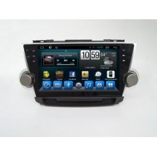 Головное устройство 10 дюймов Toyota Highlander 2012-2014 на Android 6.0.1 CARMEDIA QR-1027