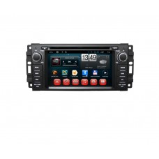 Головное устройство Jeep /Chrysler / Dodge на Android 6.0.1 CARMEDIA QR-6205-T3