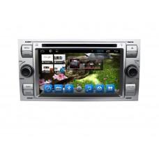 Головное устройство Ford Kuga, Focus, Fusion, Transit, Fiesta... на Android 6.0.1 CARMEDIA QR-7039 черный+серый