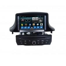 Головное устройство для Renault Megane III 2009+, Fluence 2010+, черный или белый на Android 7.1 CARMEDIA KR-7084-T8