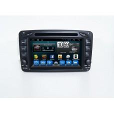 Штатное головное устройство MERCEDES G класс W463 2001-2006, C класс W203, CLK C209/W209, Vito, Viano на Android 7.1 CARMEDIA KR-7108-T8