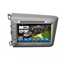 Головное устройство Honda Civic 2012-2013 на Android 4.2 CARMEDIA KR-8006