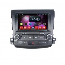 Головное устройство Mitsubishi Outlander XL 2006-2012; Peugeot 4007 2007-2012; Citroen C-Crosser 2007-2012 на Android 7.1 CARMEDIA KR-8007-T8