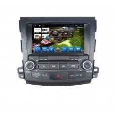Головное устройство Mitsubishi Outlander 2006-2012 на Android 6.0.1 CARMEDIA QR-8007