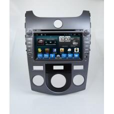 Головное устройство KIA Cerato 2008-2013, Kia Cerato COUP на Android 6.0.1 CARMEDIA QR-8021 (климат-контроль)