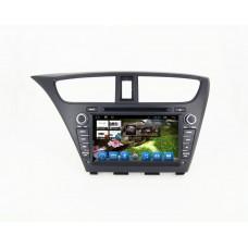 Головное устройство Honda Civic 2014 Hatchback на Android 6.0.1 CARMEDIA QR-8067