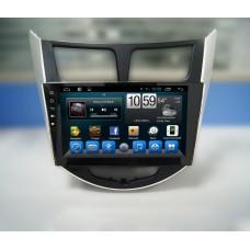 Головное устройство HYUNDAI Solaris 2011-2016 дорестайл и рестайл на Android 7.1 CARMEDIA KR-9020-T8