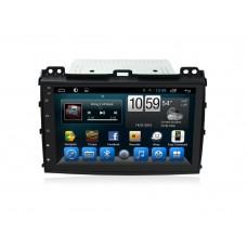 Головное устройство TOYOTA Land Cruiser Prado 120 2002-2009 на Android 7.1 CARMEDIA KR-9031-T8