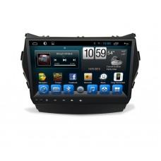 Штатное головное устройство HYUNDAI Santa Fe 2012+ (DM), Grand Santa Fe 2014+ на Android 7.1 CARMEDIA KR-9054-T8