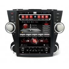 Головное устройство 12 дюймов TOYOTA Highlander 2007-2013 U40 Android 7.1 CARMEDIA SP-12107