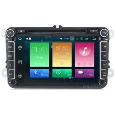 Штатное головное устройство Volkswagen, Skoda на Android 9.0 Carmedia MKD-8019-P6-8