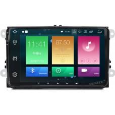 Штатное головное устройство Volkswagen, Skoda на Android 9.0 Carmedia MKD-9613-P6-8