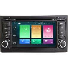 Штатное головное устройство Audi A4, RS4, S4 2000-2008 (B6,B7,8E,8H) на Android 9.0 Carmedia MKD-A787-P6-8