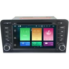 Штатное головное устройство Audi A3, S3, RS3 2003-2011 на Android 9.0 Carmedia MKD-A789-P6-8