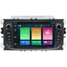 Штатное головное устройство Ford Focus 2, Mondeo, S-MAX, Galaxy, Tourneo (черный) на Android 9.0 Carmedia MKD-F746B-P6-8