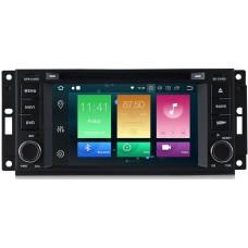Штатное головное устройство Jeep, Chrysler, Dodge на Android 9.0 Carmedia MKD-J613-P6-8