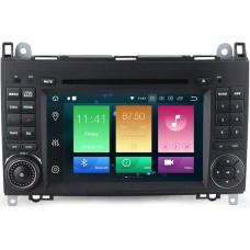 Штатное головное устройство Mercedes-Benz A класс, B класс, Viano, Vito, Sprinter на Android 9.0 Carmedia MKD-M787-P6-8