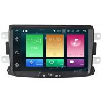 Штатное головное устройство Renault Duster, Sandero, Logan, Kaptur, Lada Xray на Android 9.0 Carmedia MKD-R831-P6-8