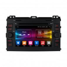Штатное головное устройство Android 6.0 Carmedia OL-7603 для Toyota Land Cruiser Prado 120 2002-2009