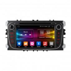 Штатная магнитола Android 6.0 Carmedia OL-7296-b для Ford Focus II, Mondeo, S-MAX, Galaxy, Tourneo/Transit Connect black