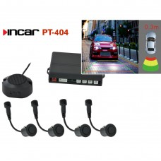 Парковочная система Incar PT-404B (видеопарктроник)