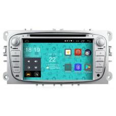 Штатная магнитола Parafar 4G/LTE для Ford Focus 2, Mondeo, Galaxy, C-Max, S-Max c DVD серебро (универсальная) на Android 7.1.1 (PF148D)
