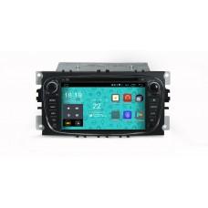 Штатная магнитола Parafar 4G/LTE для Ford Focus 2, Mondeo, Galaxy, C-Max, S-Max c DVD (универсальная) на Android 7.1.1 (PF148D) черная