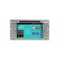 Штатная магнитола Parafar 4G/LTE для Ford Kuga, Fusion, C-Max, Galaxy, Focus c DVD (универсальная) серая на Android 7.1.1 (PF149D)