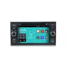 Головное устройство Parafar 4G/LTE для Ford Kuga, Fusion, C-Max, Galaxy, Focus c DVD (универсальная) черная на Android 7.1.1 (PF149D)