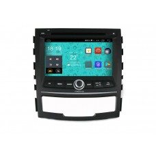 Головное устройство Parafar 4G/LTE для Ssang Yong Actyon 2011-2012 с DVD на Android 7.1.1 (PF159D)