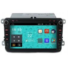 Штатная магнитола Parafar 4G/LTE для VW, Skoda, Seat (универсальная с кнопками) с DVD на Android 7.1.1 (PF904D)