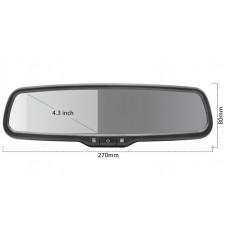 Зеркало заднего вида с монитором
